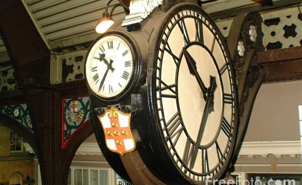 Station Clock, York
