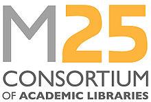 M25 Consortium of Academic Libraries logo