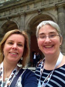 Jane and Karin at University of Vienna
