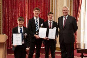 TeenTech Award recipients, 2016