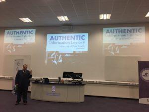 Alan Carbery keynote at LILAC