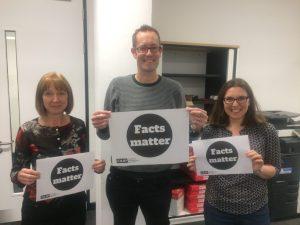 Librarians support Facts Matter