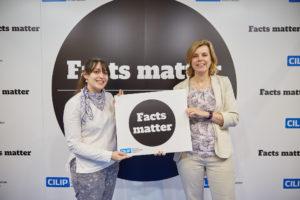 ILG Treasurer Elaine Sykes and Chair Jane Secker support #FactsMatter