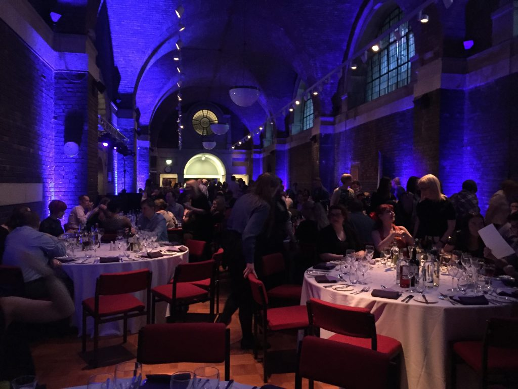 LILAC 2018 conference dinner, Liverpool Metropolitan Cathedral