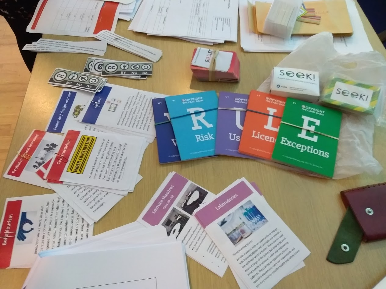 Teaching materials from the Sheffield event