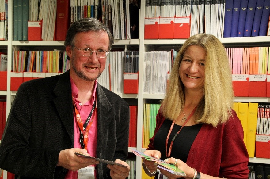 Adam Edwards and Vanessa Hill (The Sheppard Library, Middlesex University)