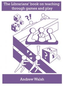 Picture of the cover of The Librarians' book on teaching through games and play
