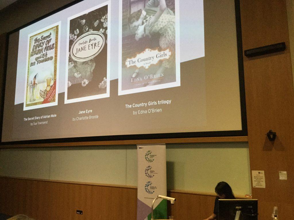 Slide with Sandeep's book choices