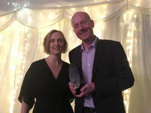 Terry Charlton LILAC 2019 winner digital literacy award