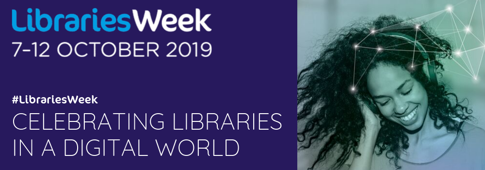 Libraries Week 2019 banner