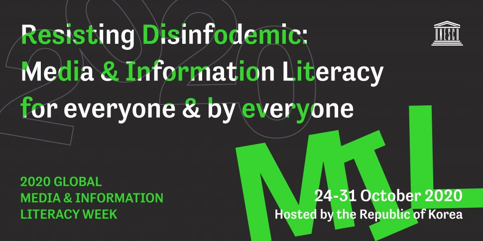 Global Media and Information Literacy Week 2020