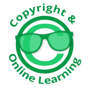 Logo for the Copyright and Online Learning Special Interest Group