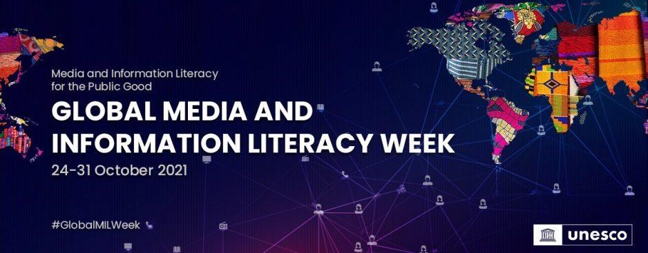 Global Media and Information Literacy Week logo